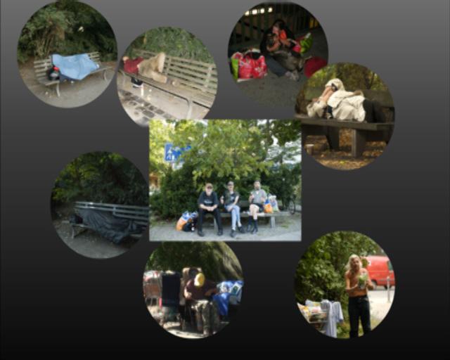 Bilderserie zur Darstellung des Openers für den Film Bankbeziehungen, Bild 5