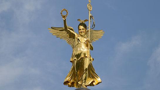 Erzengel Gabriel auf der Siegessäule
