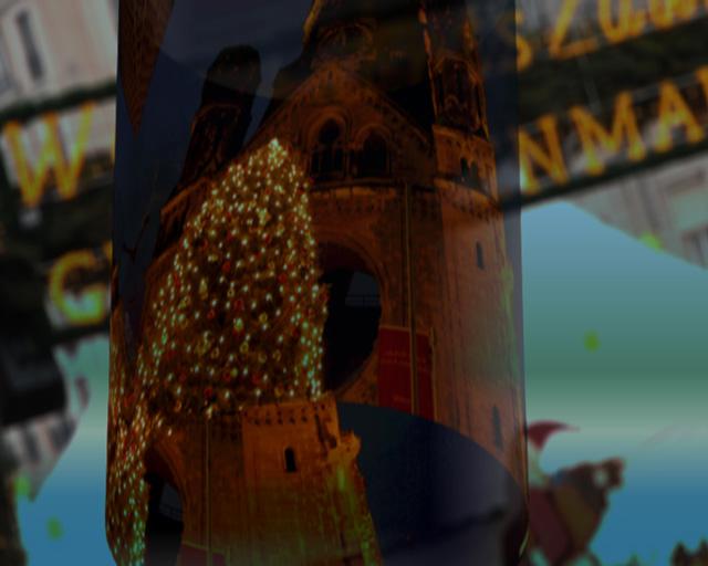 Bilderserie zur Darstellung des Openers für den Film O Du fröhliche, Bild 1