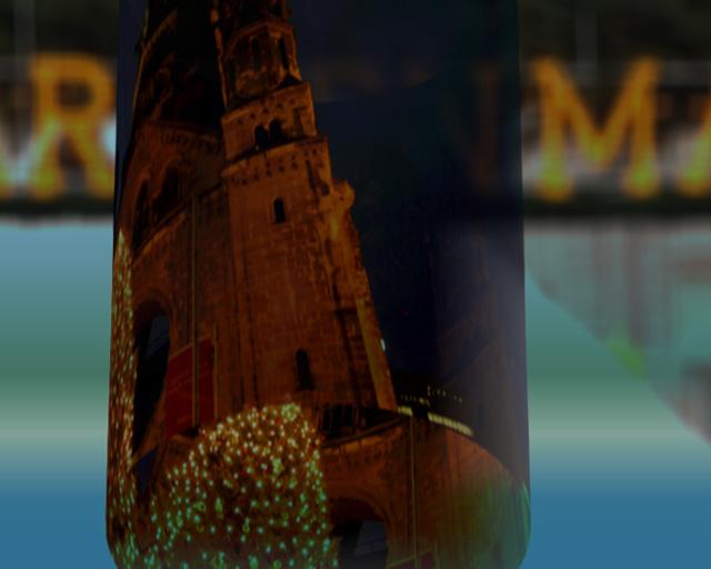 Bilderserie zur Darstellung des Openers für den Film O Du fröhliche, Bild 2