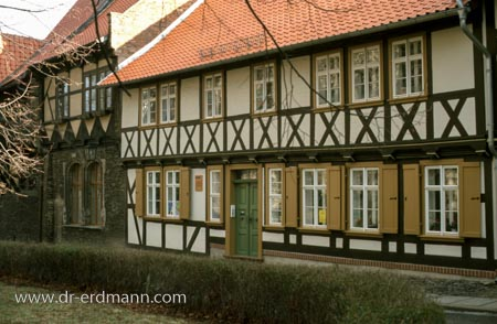 Wohnhaus des Pfarrersohns Plessing