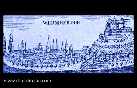 Alter Stich von Wernigerode