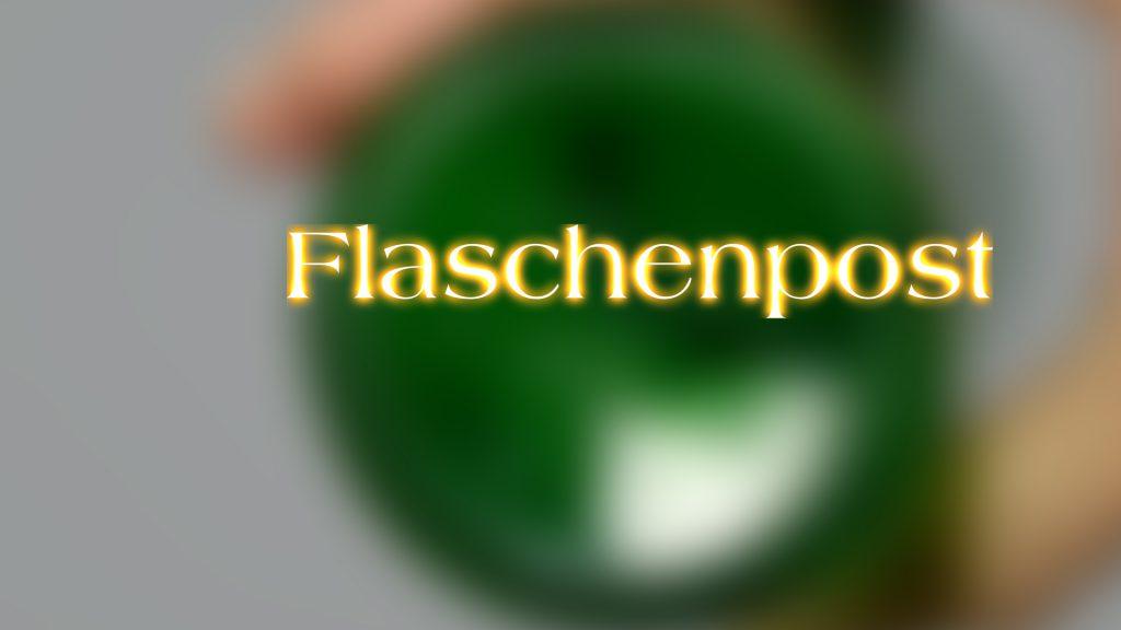 """Titel der Dokumentation """"Flaschenpost"""""""