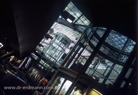 Einblick in den Hauptbahnhof