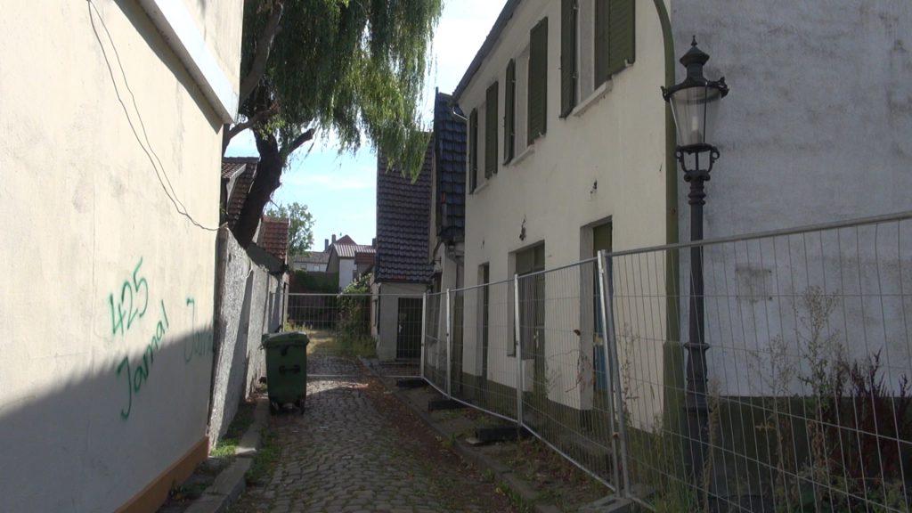 Das Rampenloch, alte Mindener Bordellstrasse
