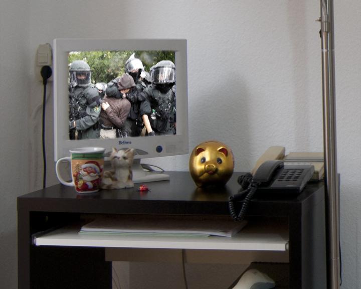 Polizeigewalt im Fernsehen